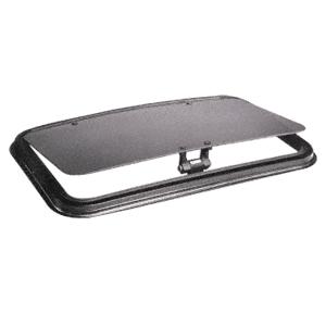 "CRL NP1828B5H SFC 18"" x 28"" NewPort Sunroof with Universal Trim Ring - Solar High Performance Glass"