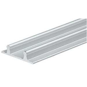 CRL D602A Satin Anodized Aluminum Lower Channel for Deep Recess Installations