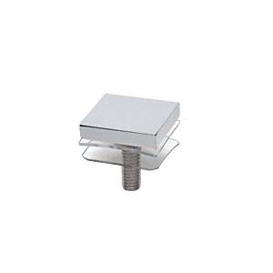 """CRL SCAP125CH Chrome 1-1/4"""" Square Standoff Cap"""