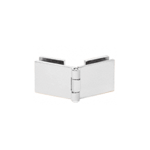 CRL EH258 Chrome Glass-to-Glass 90 Degree Return Hinge