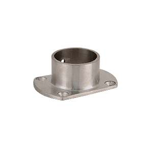 "CRL HR15ZBS Brushed Stainless Cut Flange for 1-1/2"" Tubing"