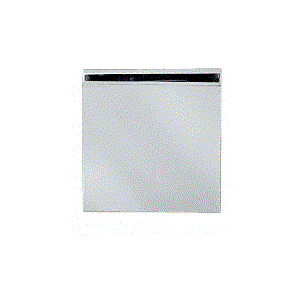 Square Style Fixed Panel U-Clamp With Nickel Finish