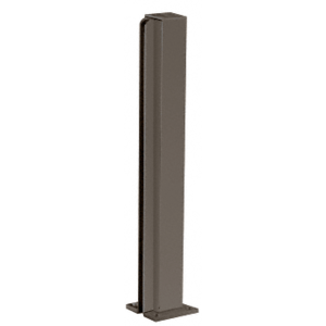 "CRL D990DU24E Duranodic Bronze 24"" End Design Series Partition Post"
