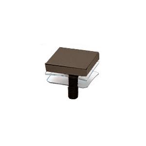 """CRL SCAP125C0RB Custom Oil Rubbed Bronze 1-1/4"""" Square Standoff Cap"""