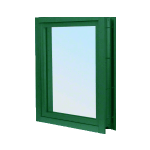 CRL C0VEK KYNAR Painted (Specify) Aluminum Clamp-On Frame Exterior Glazed Vision Window