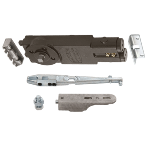 """Jackson 21101GE01 Regular Duty Spring 105 No Hold Open Overhead Concealed Closer with """"GE"""" Side-Load Hardware Package"""