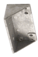 Jackson 21201U31318 Dark Bronze Adjustable Spring Power Multi Size 105 Hold Open Overhead Concealed Closer with 'U' Offset Slide-Arm Hardware Package