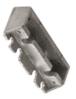 Jackson 21201U62817 Aluminum Adjustable Spring Power Multi Size 105 No Hold Open Overhead Concealed Closer with 'U' Offset Slide-Arm Hardware Package