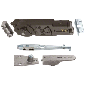 "Extra Light Duty Spring 90 Hold Open Overhead Concealed Closer With ""S"" Side-Load Hardware Package"