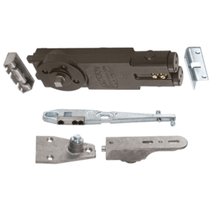 """Light Duty Spring 90 Hold Open Overhead Concealed Closer with """"S"""" Side-Load Hardware Package"""