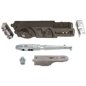 """Light Duty Spring 90 No Hold Open Overhead Concealed Closer With """"GE"""" Side-Load Hardware Package"""