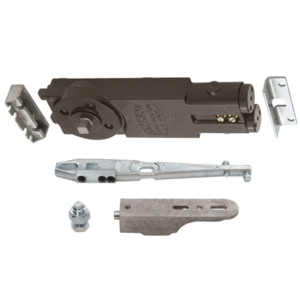 Regular Duty Spring 105 Hold Open Overhead Concealed Closer with 'U' Side-Load Hardware Package