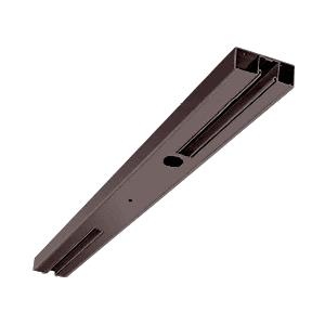 "Oil Rubbed Bronze 4"" Two Pocket Sided Door Header Custom Length"