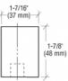 CRL 0P70RHA Aluminum Offset Right Hand 0P70 Series Pivot Set