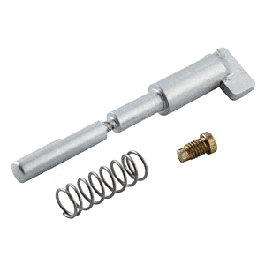 Jackson 301117628 Satin Aluminum Thumbturn Dogging Pin Assembly for Model 1085 Concealed Vertical Rod Panic Exit Devices