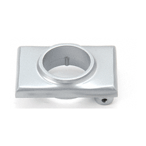 Satin Aluminum Mortise Cylinder Mounting Pad for 3100 Mid-Panel Devices