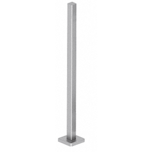 "CRL SPR36BBS Brushed Stainless 36"" Square Blank Post Railing Kit"
