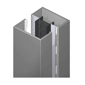 CRL ECS40CC Custom Color Standard Series Square Column Covers Four Panels Opposing