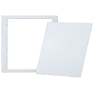 "CRL AP1414 White 14"" x 14"" All Purpose Access Panel"