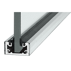 "CRL SCSA3812240 Satin Anodized 240"" Shallow U-Channel"