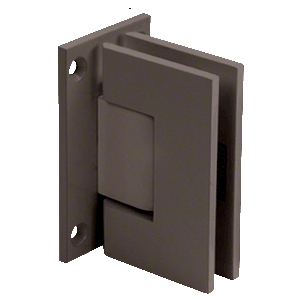 CRL GEN0370RB Oil Rubbed Bronze Geneva 037 Series Wall Mount Full Back Plate Standard Hinge