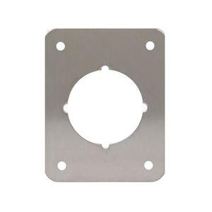 "Don-Jo RP-13545-630 3-1/2"" x 4-1/2"" Remodeler Plate Satin Stainless Steel Finish"