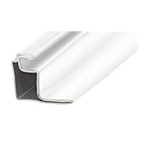 "CRL WSFS12W White 1/2"" Roll Formed Aluminum Standoff Screen Frame - 144"""
