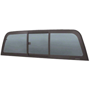 """CRL ECT804S """"Perfect Fit"""" Tri-Vent Slider with Solar Glass for 2004+ Chevy Colorado/GMC Canyon"""