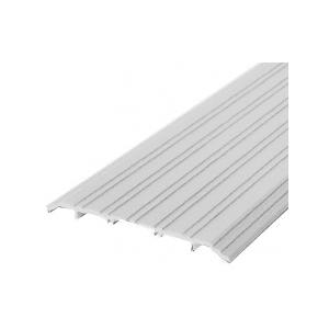 "CRL TH017A72 Aluminum 7"" x 1/2"" Saddle Threshold - 73"" in Length"