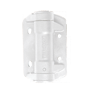 CRL TCHA1W White Self Closing Gate Hinge