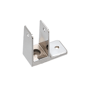 "CRL TP725 Chrome 1-9/32"" One Ear Bracket for Restroom Partitions"