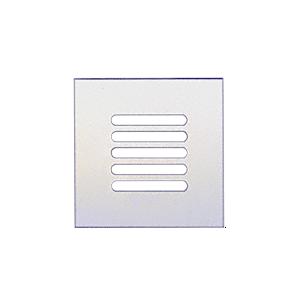 "CRL FMG660 Clear Flat Acrylic 6"" x 6"" Mirror Grille"