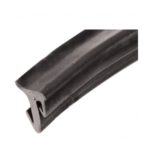 "CRL GGT12100 1/2"" Roll-In EPDM Gasket for Tapered Sidelite Rails - 100' Roll"