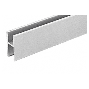 CRL D610A Satin Anodized Aluminum 'H' Bar for Use on All CRL Track Assemblies