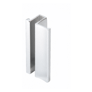 "Polished Chrome Slip-On Handle for 3/16"" or 1/4"" Frameless Sliding Door"