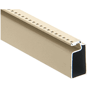 "CRL WSF345BGE Beige 3/4"" x 5/16"" Roll Formed Screen Frame - 144"""