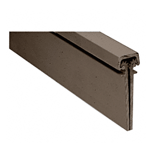 CRL 35083DU Dark Bronze Anodized 350 Series Heavy-Duty Concealed Leaf Continuous Hinge - 83""