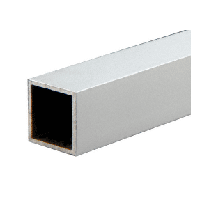 "CRL D70A Satin Anodized 3/4"" Square Tube Extrusion"