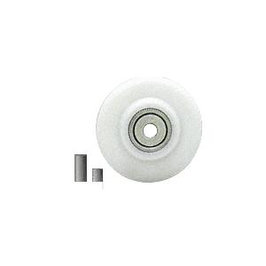 "CRL REPK7N Nylon Concave Edge Replacement Wheel - 2"" x 1/8"""
