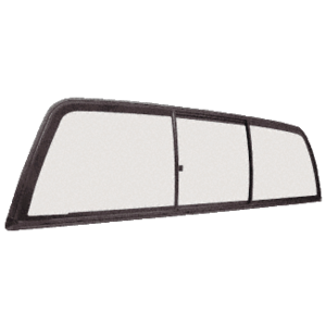 "CRL ECT410LT ""Perfect Fit"" Three-Panel Tri-Vent with Light Gray Glass for 1997+ Dodge Dakota"