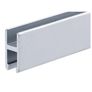 CRL D1652A Satin Anodized D1652 Low Profile 'H' Bar Extrusion