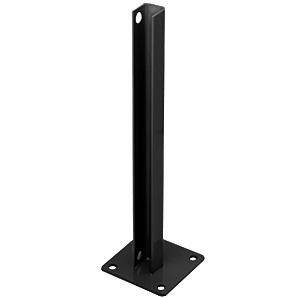 CRL PSB5BBL Black AWS Steel Stanchion for 135 Degree Rectangular Center Posts