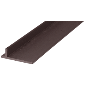 "CRL PLD1680 Bronze 120"" Sliding Screen Door Rail"
