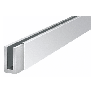 "CRL BWCPS10 Polished Stainless 120"" Cladding for Windscreen and Smoke Baffle Base Shoe"