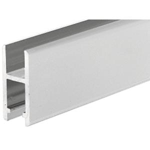 CRL DV146A Satin Anodized Aluminum H-Bar Extrusion for Showcases