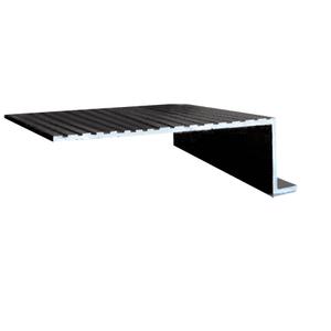 """CRL 745SBL Black 74"""" x 5-1/4"""" Retractable Screen Door In-Sill adaptor"""