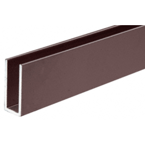 CRL D626DU Duranodic Bronze Aluminum Channel Extrusion