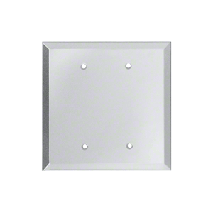 CRL GMP208C Clear Double Blank with Screw Holes Glass Mirror Plate