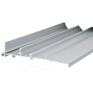 """Aluminum OEM Replacement Patio Door Threshold for Lupton Doors; 4-3/4"""" Wide x 8' Long"""