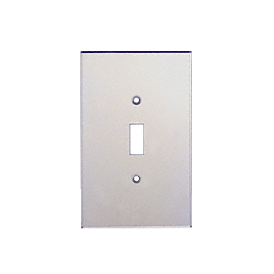 CRL PMP101 Clear Single Toggle Switch Acrylic Mirror Plate